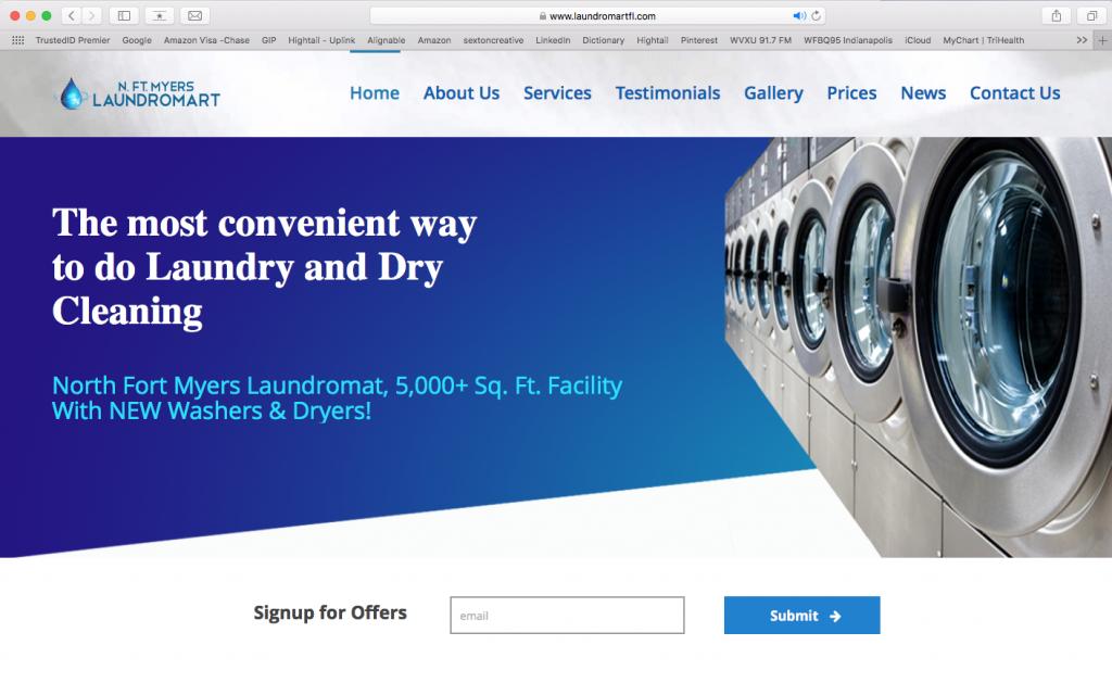 N Fort Myers Laundromart Website