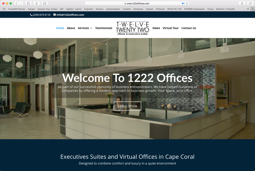 1222 Offices Website