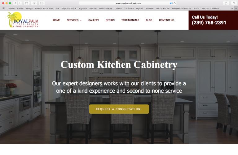 Royal Palm Closet Website